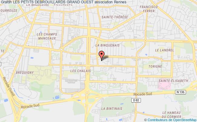 plan association Les Petits Debrouillards Grand Ouest Rennes