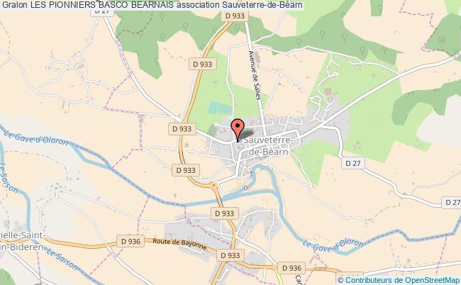 plan association Les Pionniers Basco Bearnais
