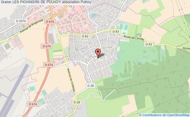 plan association Les Pionniers De Pulnoy Pulnoy