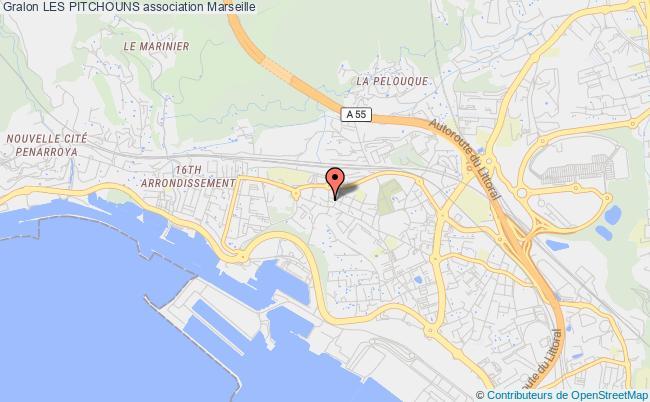 plan association Les Pitchouns Marseille