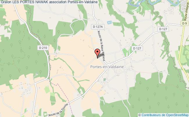 plan association Les Portes Nawak Portes-en-Valdaine