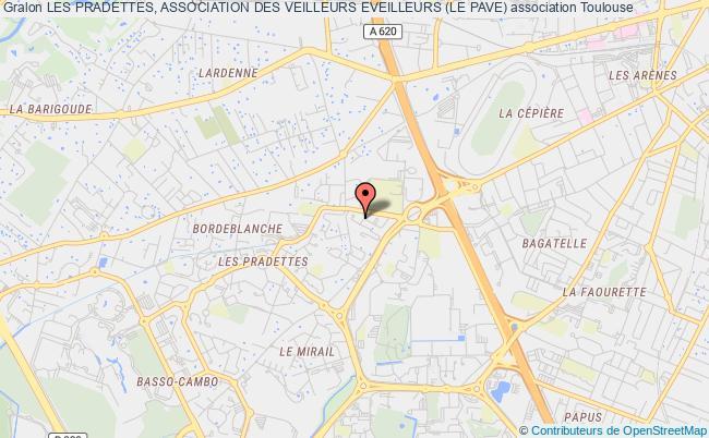 plan association Les Pradettes, Association Des Veilleurs Eveilleurs (le Pave)