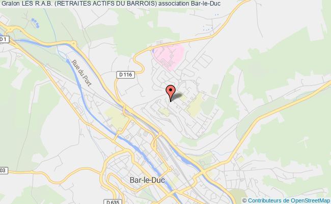 plan association Les R.a.b. (retraites Actifs Du Barrois)