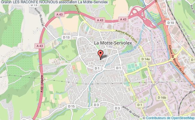 plan association Les Raconte Nounous
