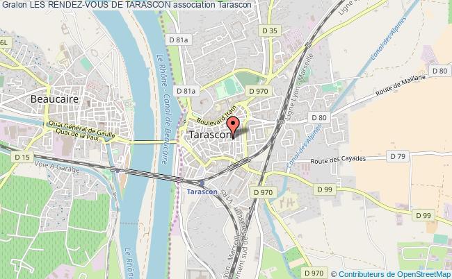 plan association Les Rendez-vous De Tarascon