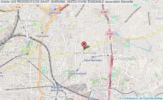 plan association Les Residents De Saint- Barnabe, Mieux Vivre Ensemble