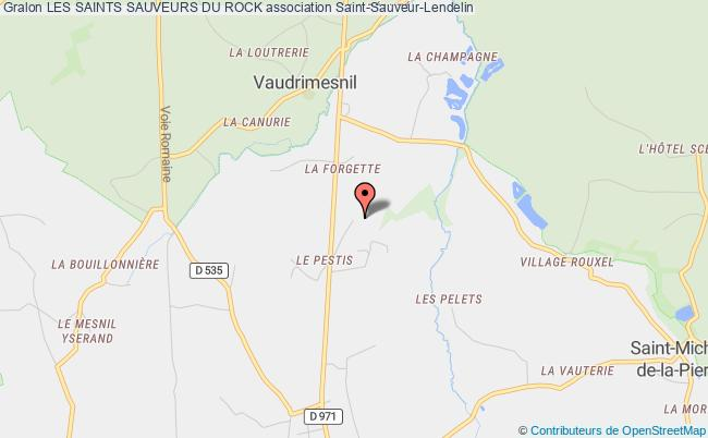 plan association Les Saints Sauveurs Du Rock Saint-Sauveur-Lendelin