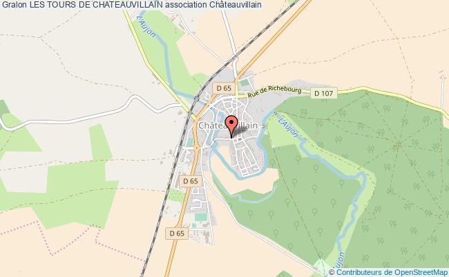 plan association Les Tours De Chateauvillain