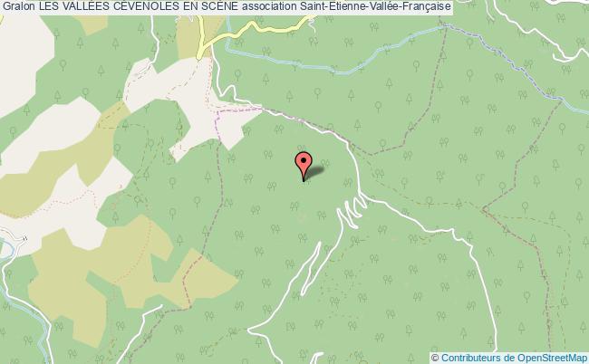 plan association Les VallÉes CÉvenoles En ScÈne Saint-Étienne-Vallée-Française