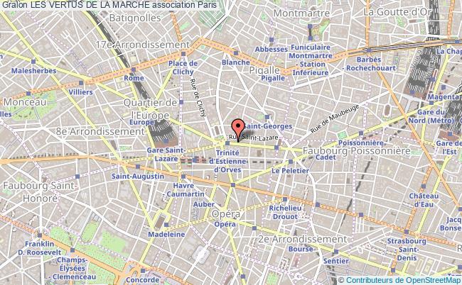 plan association Les Vertus De La Marche