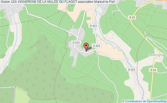 plan association Les Vignerons De La VallÉe Du Flagot