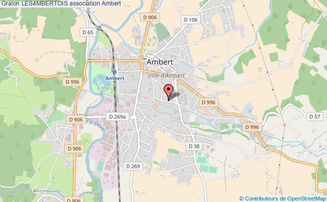plan association Les4mbertois Ambert