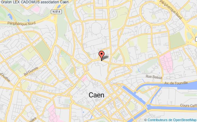 plan association Lex Cadomus Caen
