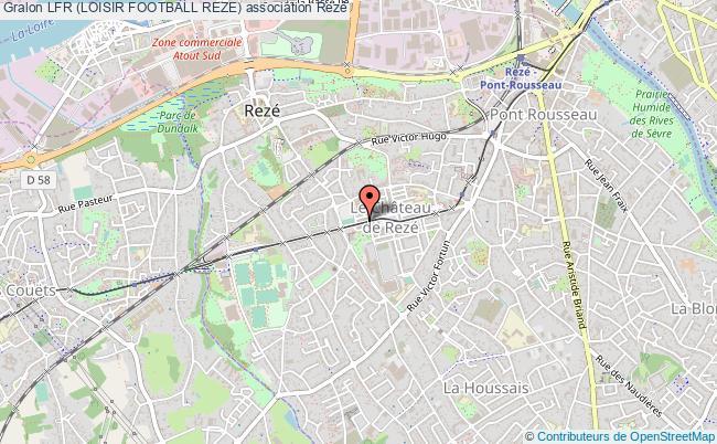plan association Lfr (loisir Football Reze)