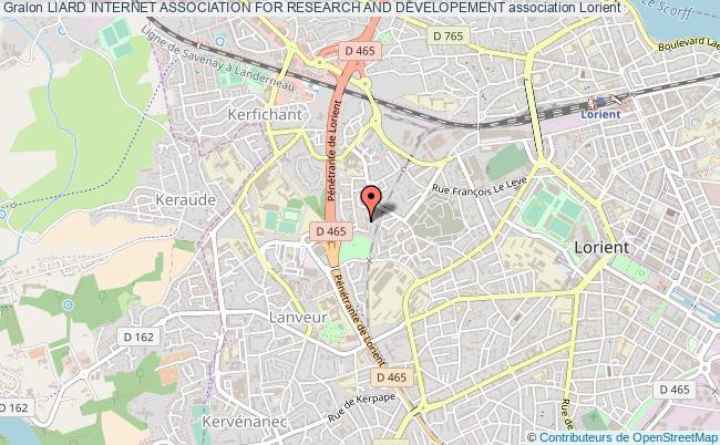 plan association Liard Internet Association For Research And Developement Lorient