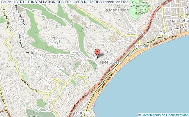plan association LibertÉ D'installation Des DiplÔmÉs Notaires Nice