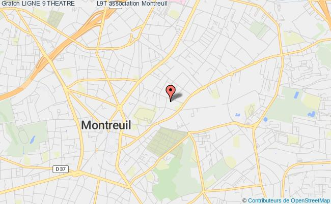 plan association Ligne 9 Theatre            L9t