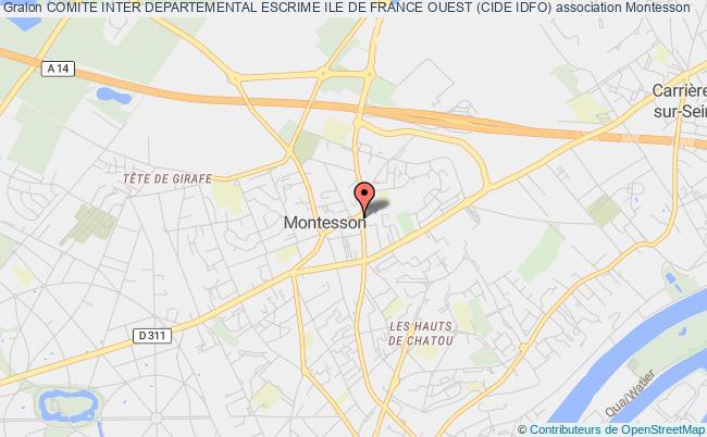 plan association Ligue D'escrime D'ile De France Ouest (leifo) Montesson