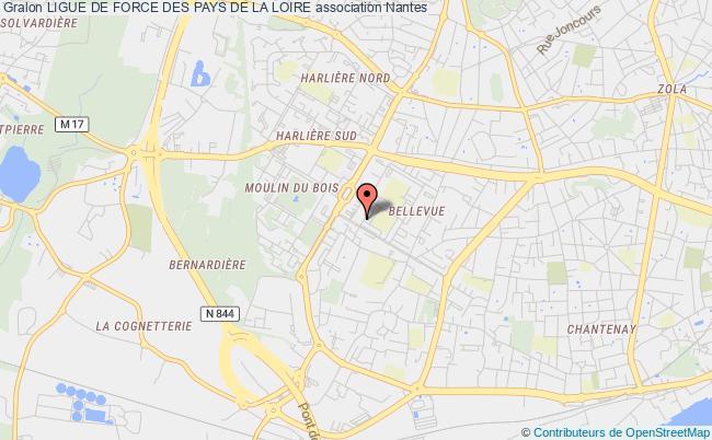 plan association Ligue De Force Des Pays De La Loire