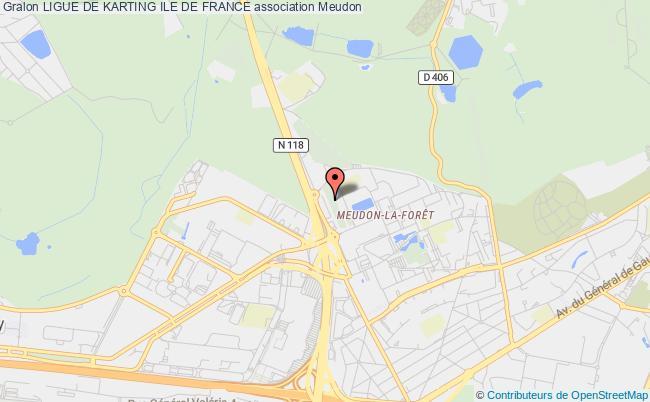 plan association Ligue De Karting Ile De France