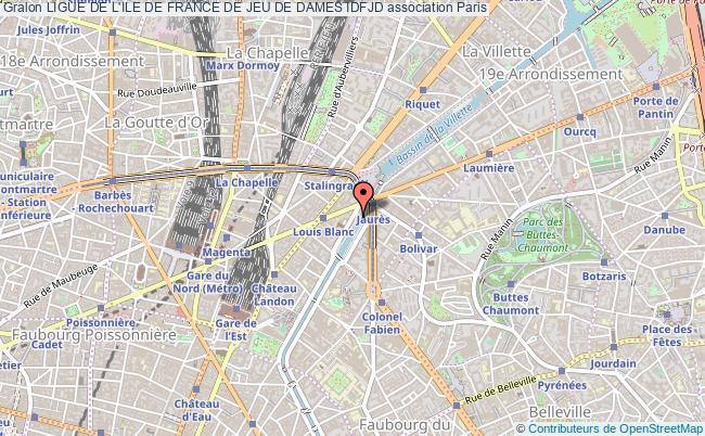 plan association Ligue De L'ile De France De Jeu De Dames Idfjd