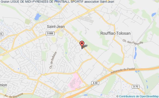 plan association Ligue De Midi-pyrenees De Paintball Sportif