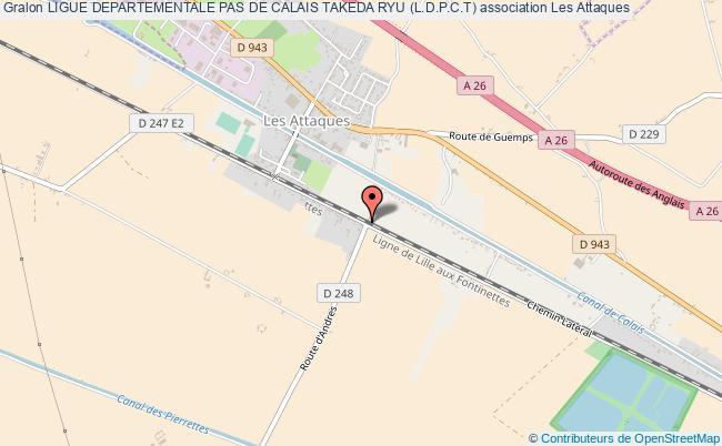 plan association Ligue Departementale Pas De Calais Takeda Ryu (l.d.p.c.t)