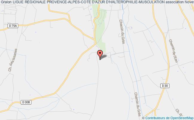 plan association Ligue Regionale Provence-alpes-cote D'azur D'halterophilie-musculation