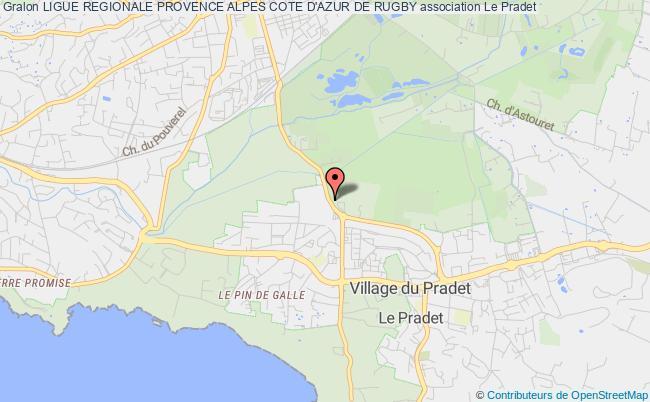 plan association Ligue Regionale Provence Alpes Cote D'azur De Rugby