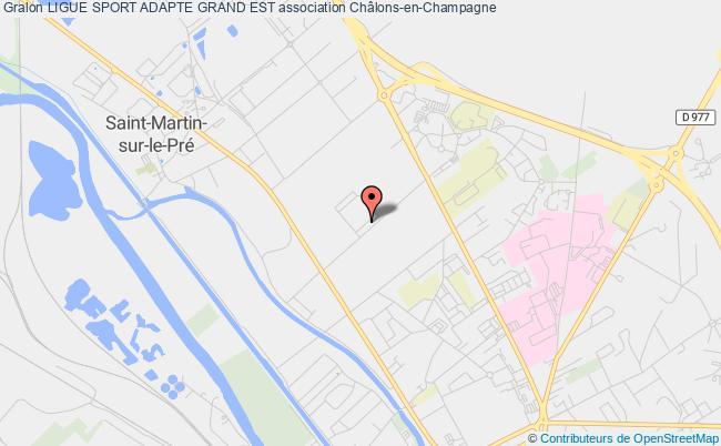 plan association Ligue Sport Adapte Grand Est