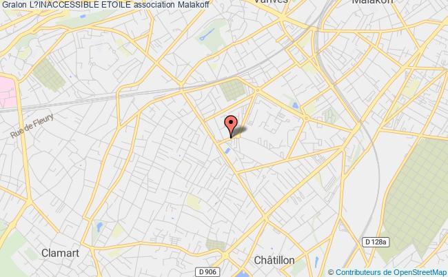 plan association L?inaccessible Etoile Paris