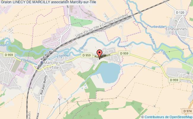 plan association Linecy De Marcilly Marcilly-sur-Tille