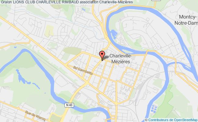 plan association Lions Club Charleville Rimbaud