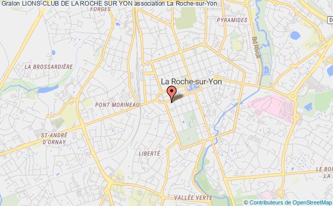 plan association Lions-club De La Roche Sur Yon La    Roche-sur-Yon