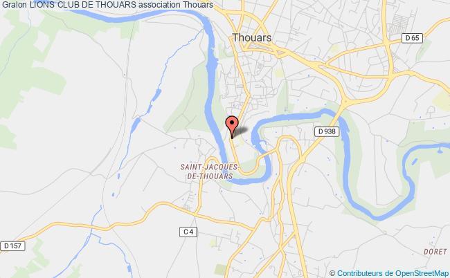 plan association Lions Club De Thouars Thouars