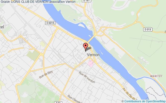 plan association Lions Club De Vernon Vernon
