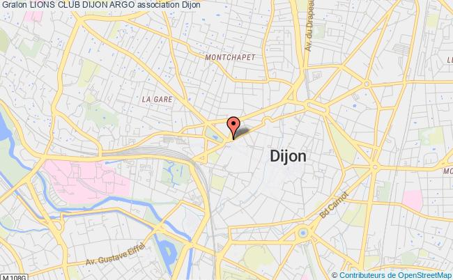plan association Lions Club Dijon Argo