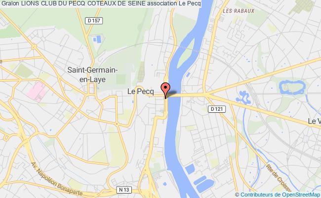 plan association Lions Club Du Pecq Le    Pecq