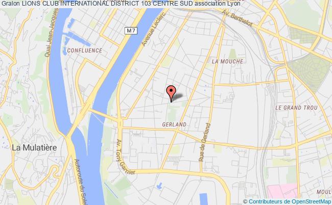plan association Lions Club International District 103 Centre Sud