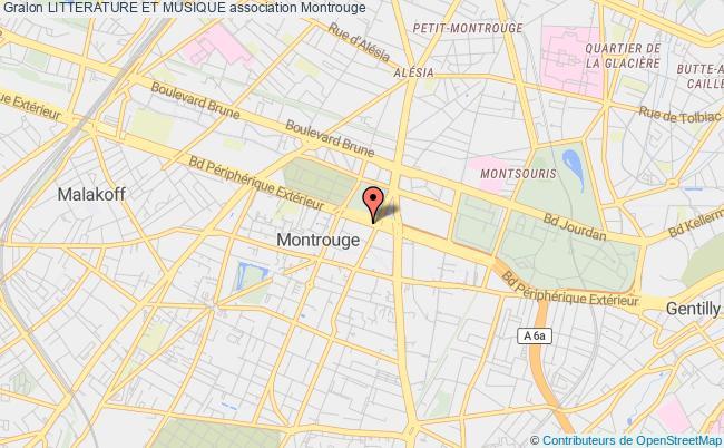 plan association Litterature Et Musique Montrouge