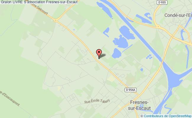 plan association Livre S Fresnes-sur-Escaut