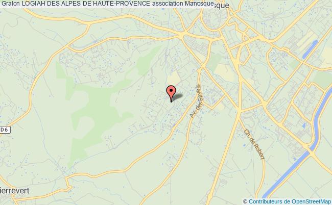 plan association Logiah Des Alpes De Haute-provence