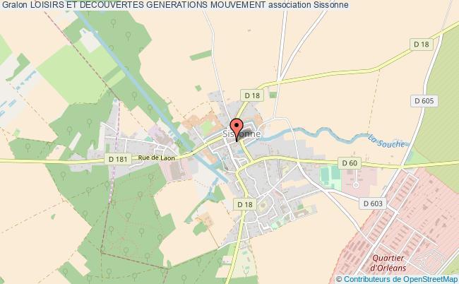 plan association Loisirs Et Decouvertes Generations Mouvement