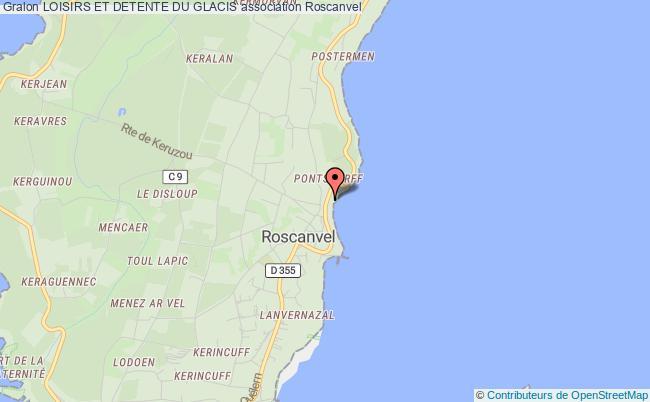 plan association Loisirs Et Detente Du Glacis