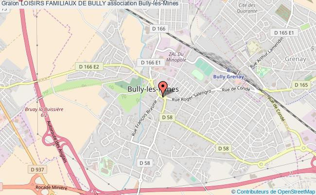 plan association Loisirs Familiaux De Bully