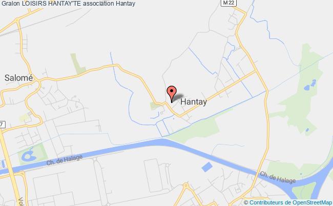 plan association Loisirs Hantay'te Hantay