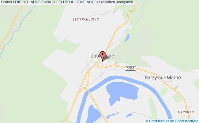 plan association Loisirs Jaulgonnais - Club Du 3eme Age.