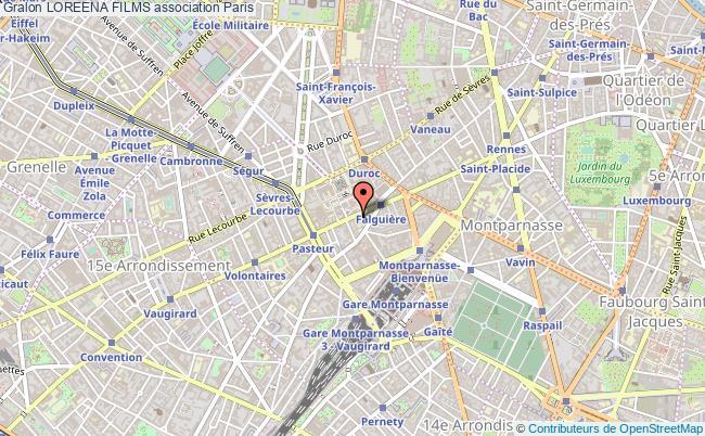 plan association Loreena Films Paris 15e