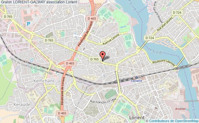 plan association Lorient-galway