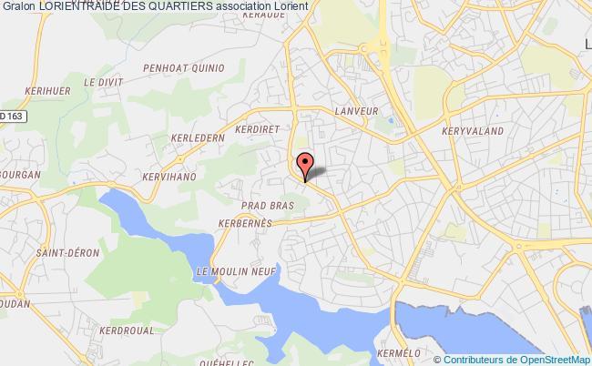 plan association Lorientraide Des Quartiers